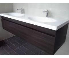 Corian vanities for the good looking bath