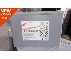 12v 100ah Sprinter Lead acid dry battery by Exide GNB made in Portugal