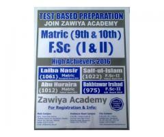 Revision and Test Session at Zawiya