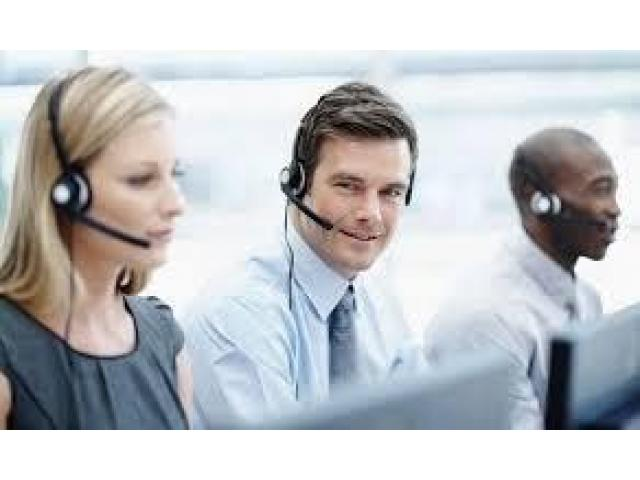 Call centre staff with a handsome salary