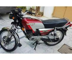 Kawasaki Gto 125 for sale in good amount