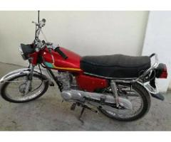 CG-125 MODEL 2005 FOR SALE IN GOOD AMOUNT