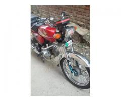 Honda CD 70 very good for sale in good amount