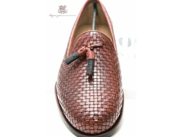 """""""Naples"""" is our hand finished tassel woven loafer made winter sale"""