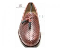 """Naples"" is our hand finished tassel woven loafer made winter sale"