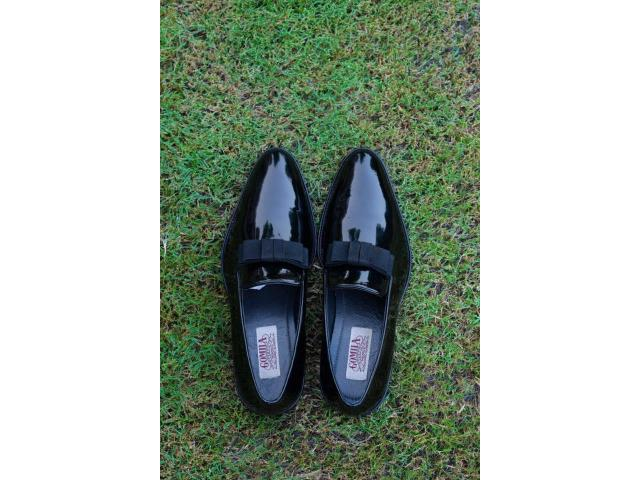 Patent leather luxury dress shoes for sale in winter sale meela