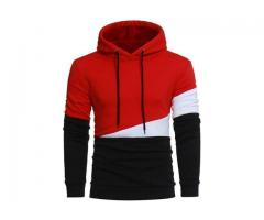 Product Name: RED DESIGNER HOODIE COLLECTION WINTER SALE