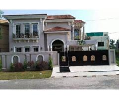 21 Marla Brand new Spanish Bungalow for sale  in Wapda town Lahore