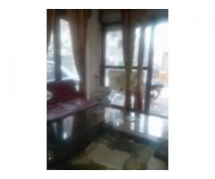Model town Q block dha flat ground floor for sale in good amount