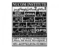 1 year and 2 years diploma courses: