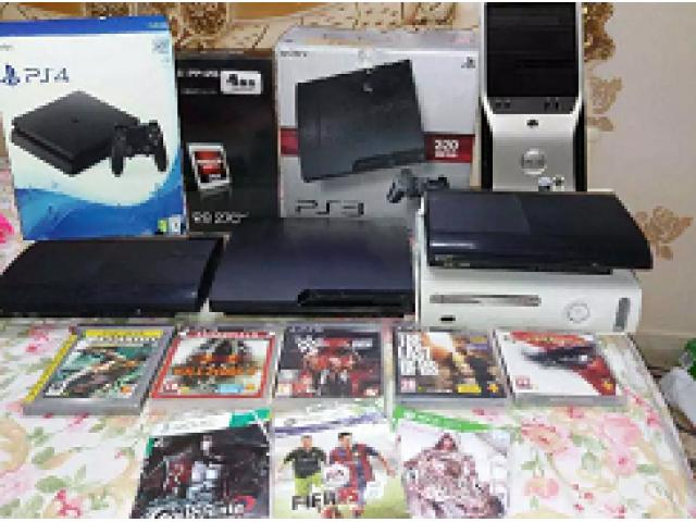 Xbox 360 ps3 ps4 gaming pc consoles accessories jailbreak