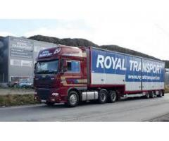 Royal transport for the loading useful things