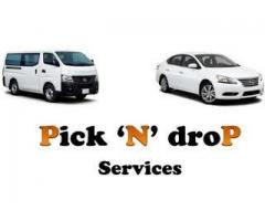 Pick and drop services for education institute