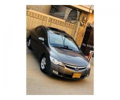 Honda civic 2007 sunroof automatic ug original condition for sale