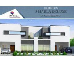 My Home Lahore: 5 Marla double storey house for sale on installment