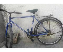 Phoenix bike good condition only tube problem for sale