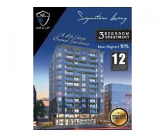 Signature Living 3 Beds Luxury Apartments on installments Karachi