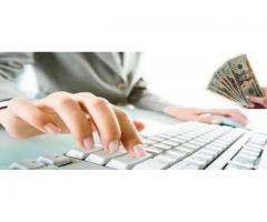 Online data entry handsome income