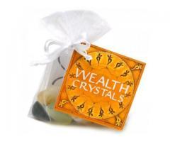 Wealth Gem stone Bag