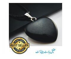 Agate Heart Gem Stone Pendant