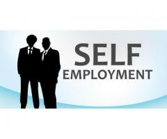 Self Employment work for you man