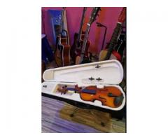 German made violin+2 year warranty guitar wood store collection