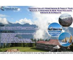 WINTER HOLIDAYS - 04-Days Kaghan Honeymoon & Family Tour
