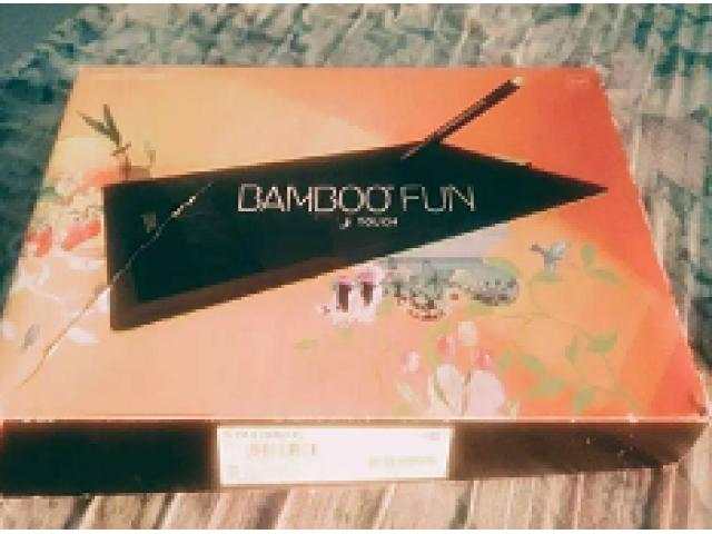 Wacom Bamboo Fun. Pen and Touch for sale