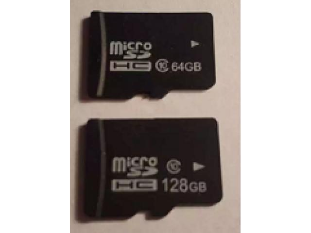 64GB Micro SDHC Card Class 10 for sale