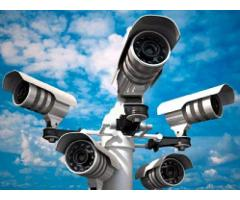 CCTV 4 Cameras Full HD Full Package Bumper Offer ( NO HIDDEN CHARGES )