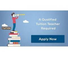 Tutor required with a handsome salary