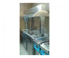 All sizes salad bar on your diamond. Pizza oven. Fast food restaurant