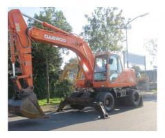 Daewoo Solar S170W-V Wheeled Excavator For Sale, Gujranwala