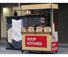 Soup Stall worker required