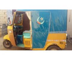 Fit condition rickshaw for sale