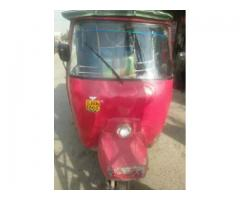 Auto Rikshaw for sale in red color