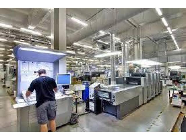 Printing house setup worker required