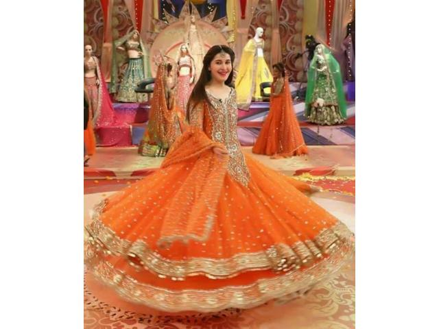 CODE ; KASHI ORANGE GET 45% OFF ON DRESS NEW COLLECTION