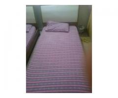 Two single beds for sale good condition