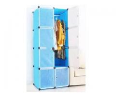 Magnetic Door Wardrobe - 8 cubic - Blue For Sale