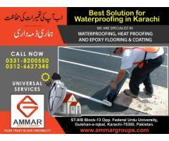 Best Solution for Waterproofing in Karachi