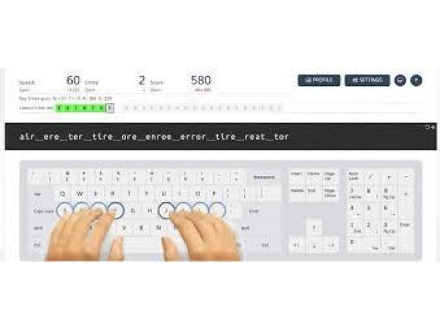 Online typing job