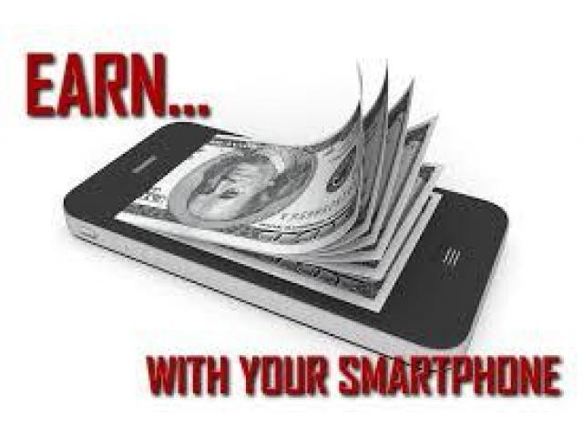 Earn money with your smartphone call me
