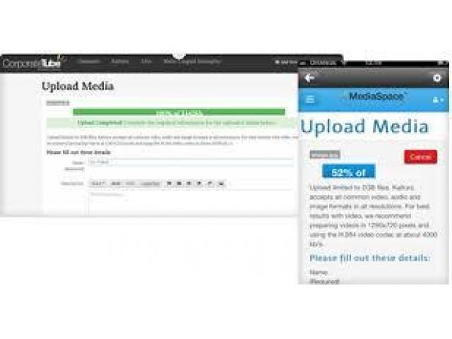 Candidate for website product uploads and social media updates