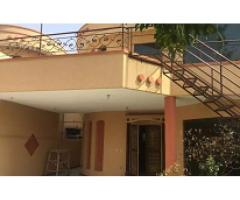 11 Marla house upper Portion for rent Sam Canal Villas on Main canal Lahore.