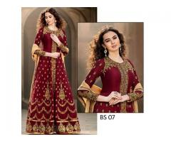 Code# BS 07 - FULL EMBROIDERED COMPLETE 3 PIECE SUIT WINTER SALE