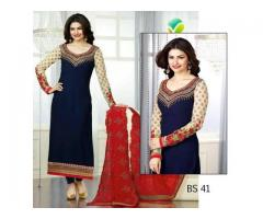 Code# BS 41- FULL EMBROIDERED COMPLETE 3 PIECE SUIT WEDDING SEASON