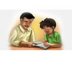 Required Home Tutor required for a baby