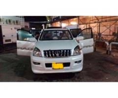 Toyota Prado tx limited 3400 (bulletproof) for sale please visit us