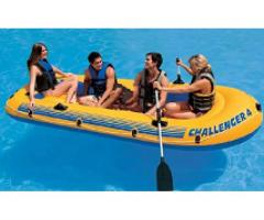 Intex Challenger 4 Inflatable Boat Model Number: 68371 buy to call me